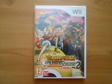 One Piece Unlimited Cruise 2 Awakening of a Hero for Wii - not in English