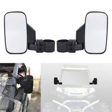 "2Pcs UTV Rearview Side Mirrors For 1.75""- 2"" Polaris Ranger RZR 900 1000 Yamaha"