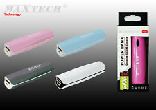 Power bank 3000 mah caricabatterie portatile usb per smartphone batteria esterna