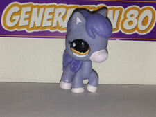 Littlest PetShop Poney Gris Et Bleu N°1114 Horse Pet Shop