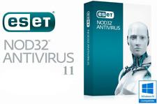 ESET NOD32 Antivirus 11 (3 PC / 3 Years) 3 Keys