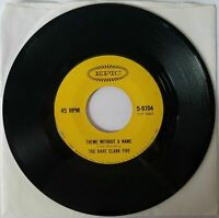 "THE DAVE CLARK FIVE Because / Theme Without A Name 7"" Vinyl 45 Epic ZSP-78403"