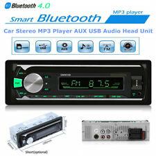 1 DIN Bluetooth Car Stereo Radio Audio MP3 Player Head Unit USB FM SD AUX 7 LED