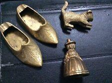 small brass ornaments X 3