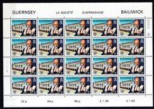 Guernsey1982 postfrisch Bogen Satz MiNr.245-250 Europa Historische Ereignisse