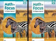 Grade 5 Math in Focus Student Workbook Set 5A & 5B Singapore Approach 2009