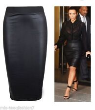 Unbranded Patternless Straight, Pencil Skirts for Women
