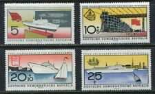 31331). DDR 1960 MNH** FDGB - Ship 4v. Scott# 502/03+B58/59