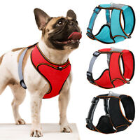 Reflective Front Clip Dog Harness Breathable Mesh Padded for Small Medium Dogs