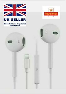 Headphones for iPhone 7, 8, X, XR XS Max 11 Pro Headset Earphone with mic Popup