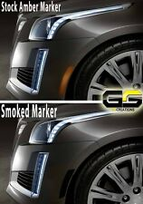 2014 2015 2016 2017 2018 2019 Cadillac CTS SMOKED Side Markers / Sidemarker