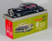 Tri-ang Minic M013 1/20 Scale Rolls Royce Silver Cloud. BOXED. RARE 1960's