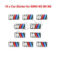 3D Emblem Auto Aufkleber Car Sticker für BMW M3 M5 M6 10x Car Stickers