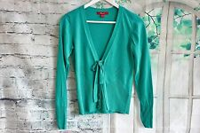 Ladies MONSOON Green Cotton Cardigan - UK10 EU38