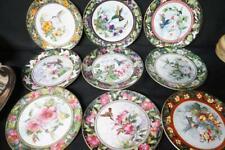 "9 Royal Doulton Franklin Mint Hummingbird Plates 8 1/4"""