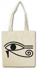 EYE OF RA COTTON BAG - Jutebeutel Stoffbeutel - Horus Horusauge Re Third Falcon