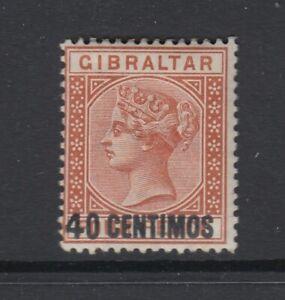 Gibraltar, Scott 26 (SG 19), MLH