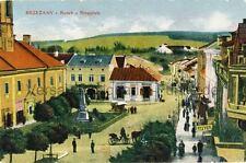 Ansichtskarte Brzezany Rynek Ringplatz 1917 Bereschany