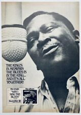 BB KING 1969 vintage POSTER ADVERT WHY I SING THE BLUES