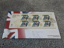 GB ROYAL MAIL PREMIER JOUR OFFICIEL London 2012 Jeux olympiques edition McKeever