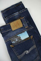NUDIE JEANS Men's W30/L32 Slim Fit Stretch Organic Fade Effect Jeans #0534*