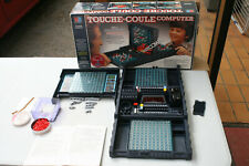 ANCIEN JEU DE SOCIETE MB DE 1983 : TOUCHE-COULE COMPUTER COMPLET ET BON ETAT
