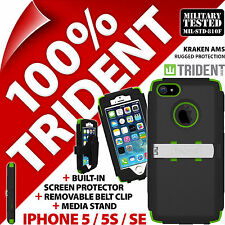 New Trident Kraken AMS Heavy Duty Hard Case Rugged for Apple iPhone 5 / 5S / SE