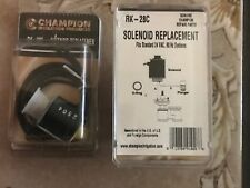 Champion  RK-28C Solenoid Replacement Open Yoke 2 a Pair