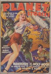 Planet Stories Vol. 2 No. 6 Pulp Spring 1944 Ray Bradbury Graham Ingles
