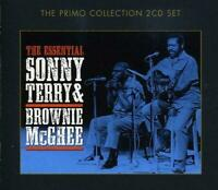 Sonny Terry And Brownie McGhie - The Essential 2 x CD