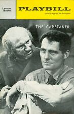 1961 Playbill THE CARETAKER Robert Shaw Donald Pleasence Harold Pinter