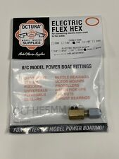 New Octura Model marine Supplies Electric Flex Hex Cable Size .150 to Shaft 5mm