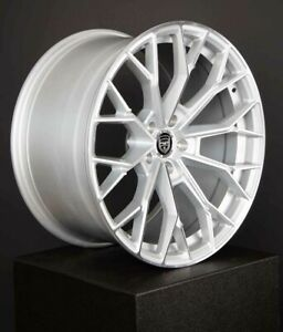 4 HP3 20 inch STAGGERED Silver Rims fits JAGUAR S-TYPE 2000 - 2008
