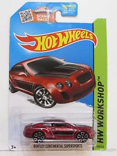 HOT WHEELS 2015 HW WORKSHOP - SPEED TEAM BENTLEY CONTINENTAL SUPERSPORTS