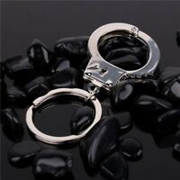 Keychain Creative Handcuffs Modeling Mini Size Metal Key Chains Key Ring