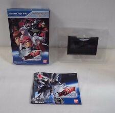 WS -- SD Gundam Monoeye Gundams -- Box. Can data save! WonderSwan, JAPAN. 37741
