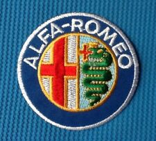 ALFA ROMEO CAR SPIDER MOTOR SPORTS RACING SEW IRON ON EMBROIDERED PATCH BADGE 1