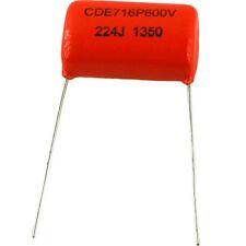Sprague Orange Drop capacitor 716P .22uF 600V