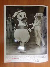 Vintage Glossy Press Photo Theater Walt Disney's World On Ice Donald Duck