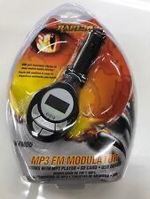 Raptor Wireless FM Modulator MP3 SD Card  USB Player AW-FMOD