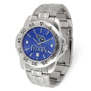 NFL Tennessee Titans Mens Sport Steel Watch Style: XWM3545 $87.90