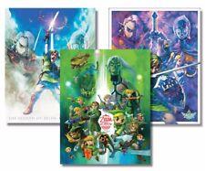 Rare Official Club Nintendo Zelda Skyward Sword Posters Brand New