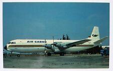 Air Gabon Vickers Vanguard postcard