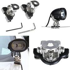 2x 304 Stainless Steel Car Clamp Mount Bracket Holder For Offroad LED Work Light