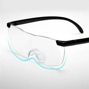 1.6X Fashion Goggles Elderly Presbyopia Frameless Reading Eyeglass Magnifier