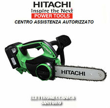 MOTOSEGA ELETTROSEGA CS36DL Ah 2,0 VOLT 36 A BATTERIA LITIO HITACHI