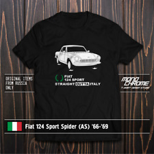 T-shirt Fiat 124 Sport Spider (AS) '66-'69