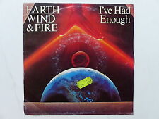 EARTH WIND & FIRE I've had enough A 1959