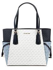 Michael Kors Tasche Handtasche  Voyager EW Tote Blau-Multi neu