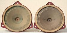 """Speaker klangfilm Field Coil Full Range VINTAGE TWEETER Horn Theater pair 5"""" 30s"""